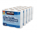 Kirkland Signature Bath Tissue 2-ply White 6 Pack.