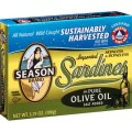Imported Skinless & Boneless Sardines in Olive Oil 3.75 oz. can